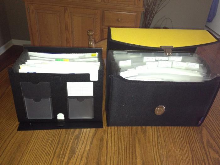 files of adoption paperwork Jan 2013