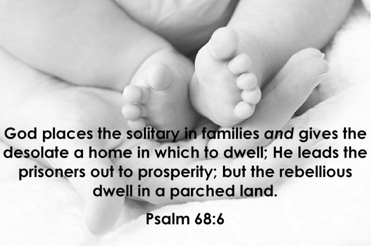 Psalm 68v6